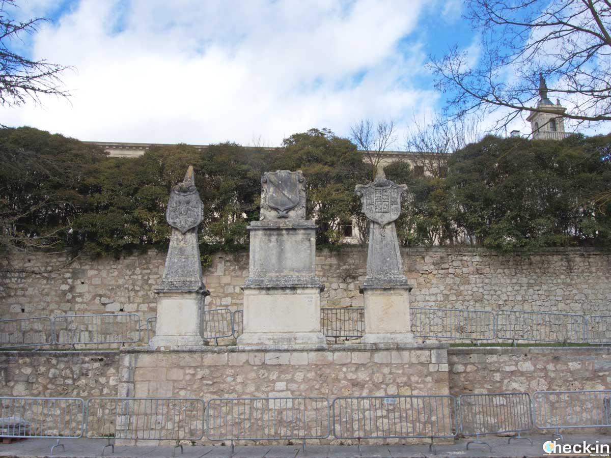 Solar del Cid en el lugar donde él tuvo su casa en Burgos