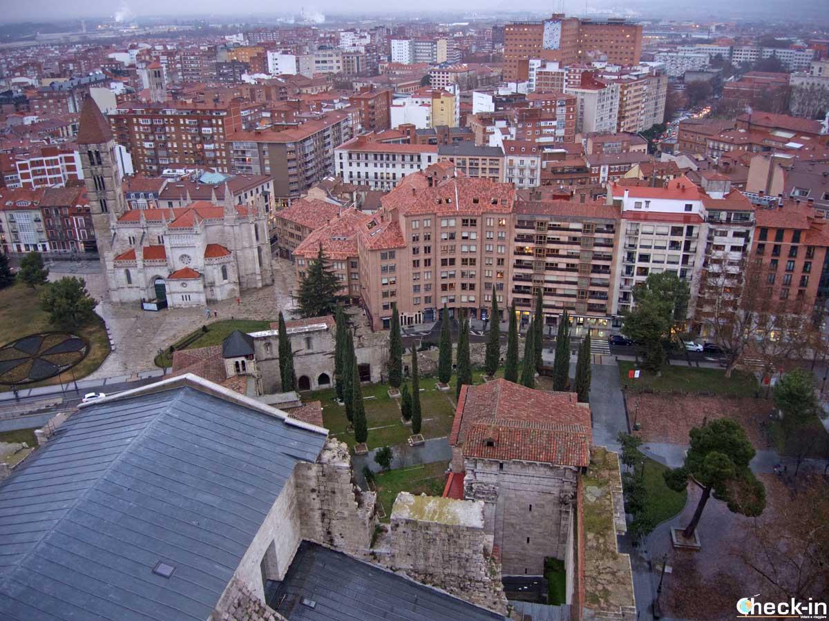 Vista di Valladolid dalla cima della Torre della Cattedrale