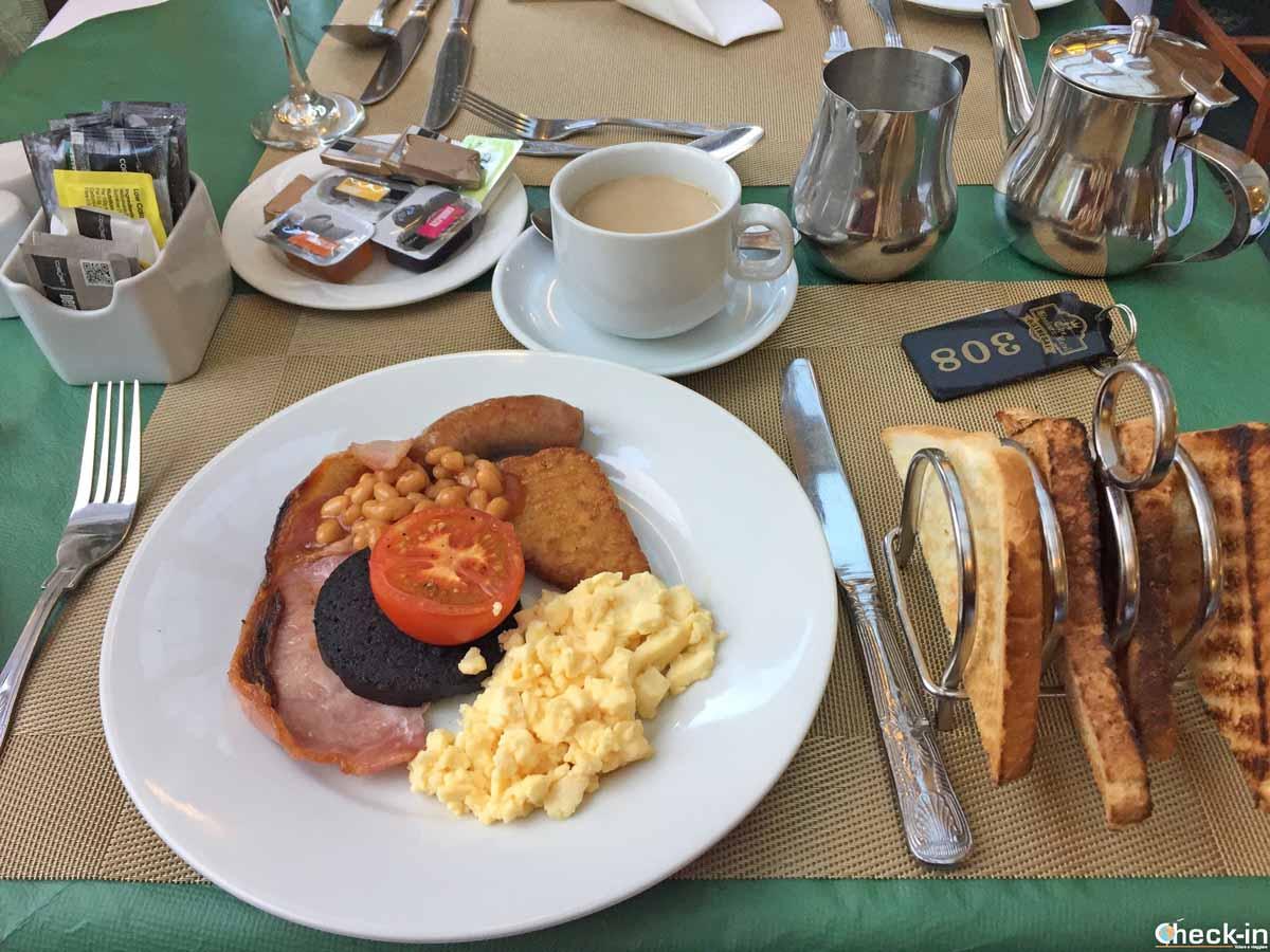 """Colazione """"all'inglese"""" al Glenburn Hotel di Rothesay (Scozia)"""