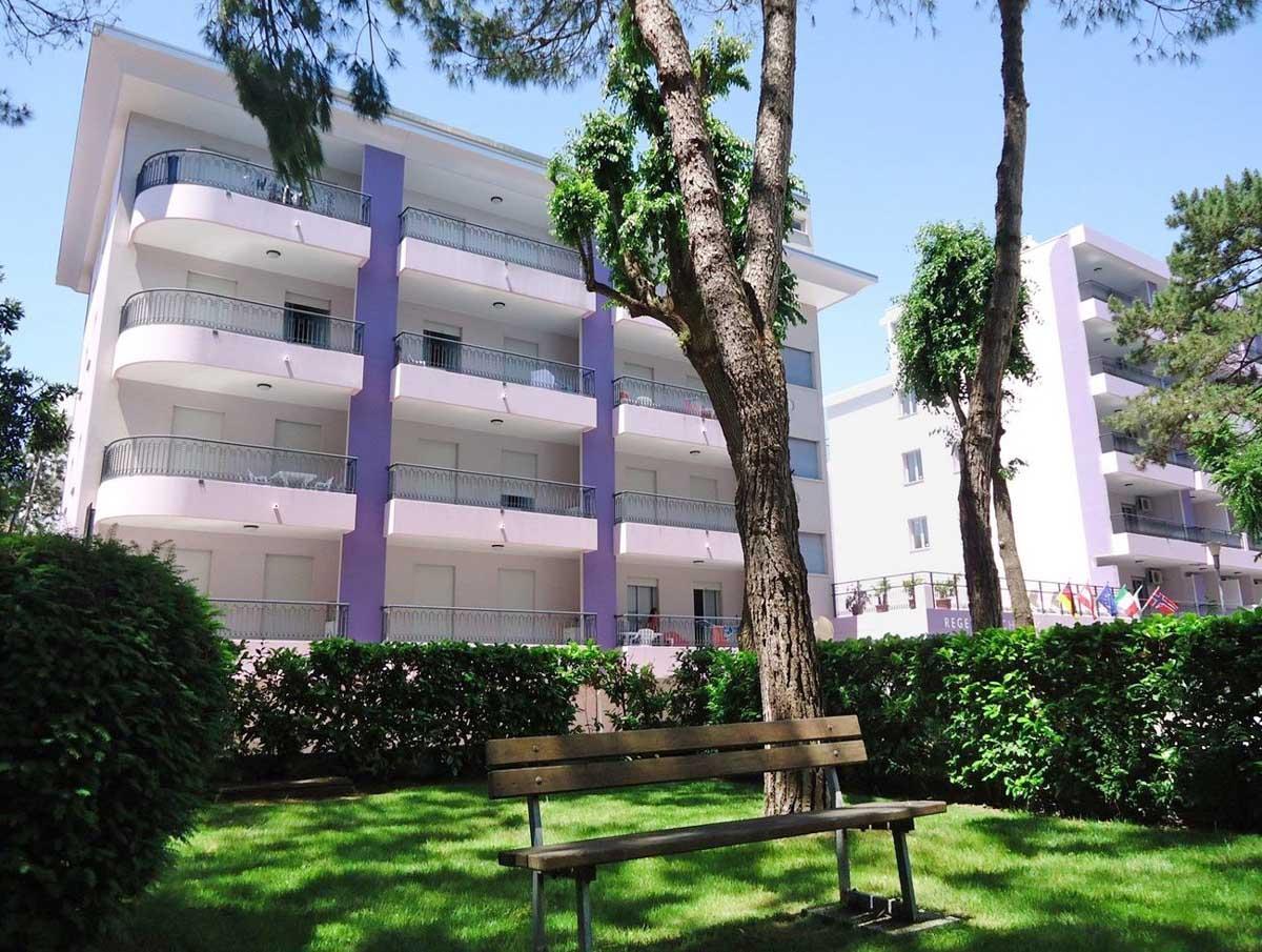 Informazioni e prenotazione Residence Regent Beach a Bibione