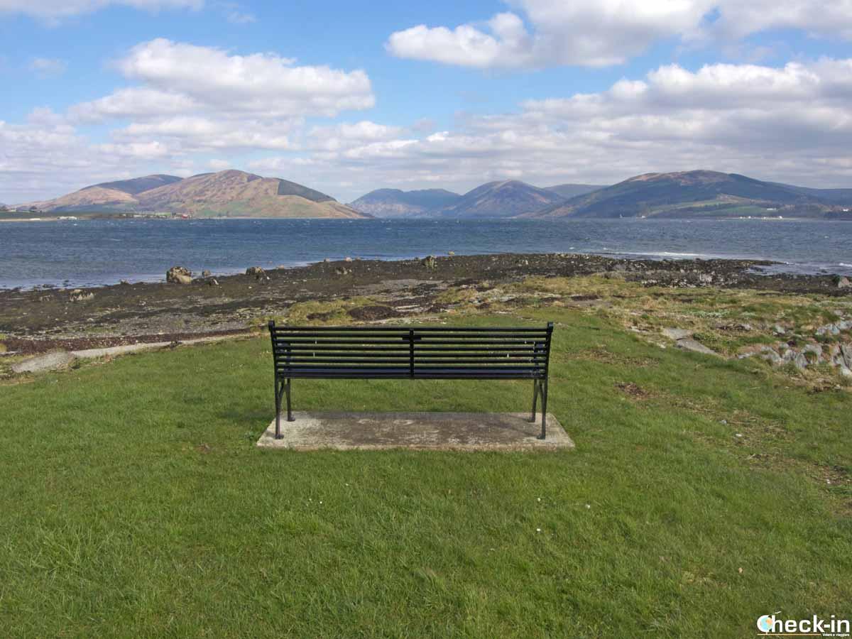 Itinerari costieri sull'isola di Bute (Scozia)