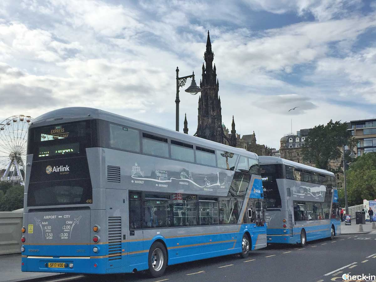 Collegamenti tra aeroporto di Edimburgo e centro città | Check-in Blog di Stefano Bagnasco