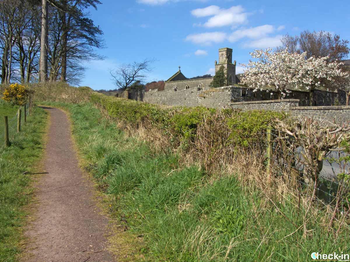 Sentieri per camminatori sull'isola di Bute (Scozia)