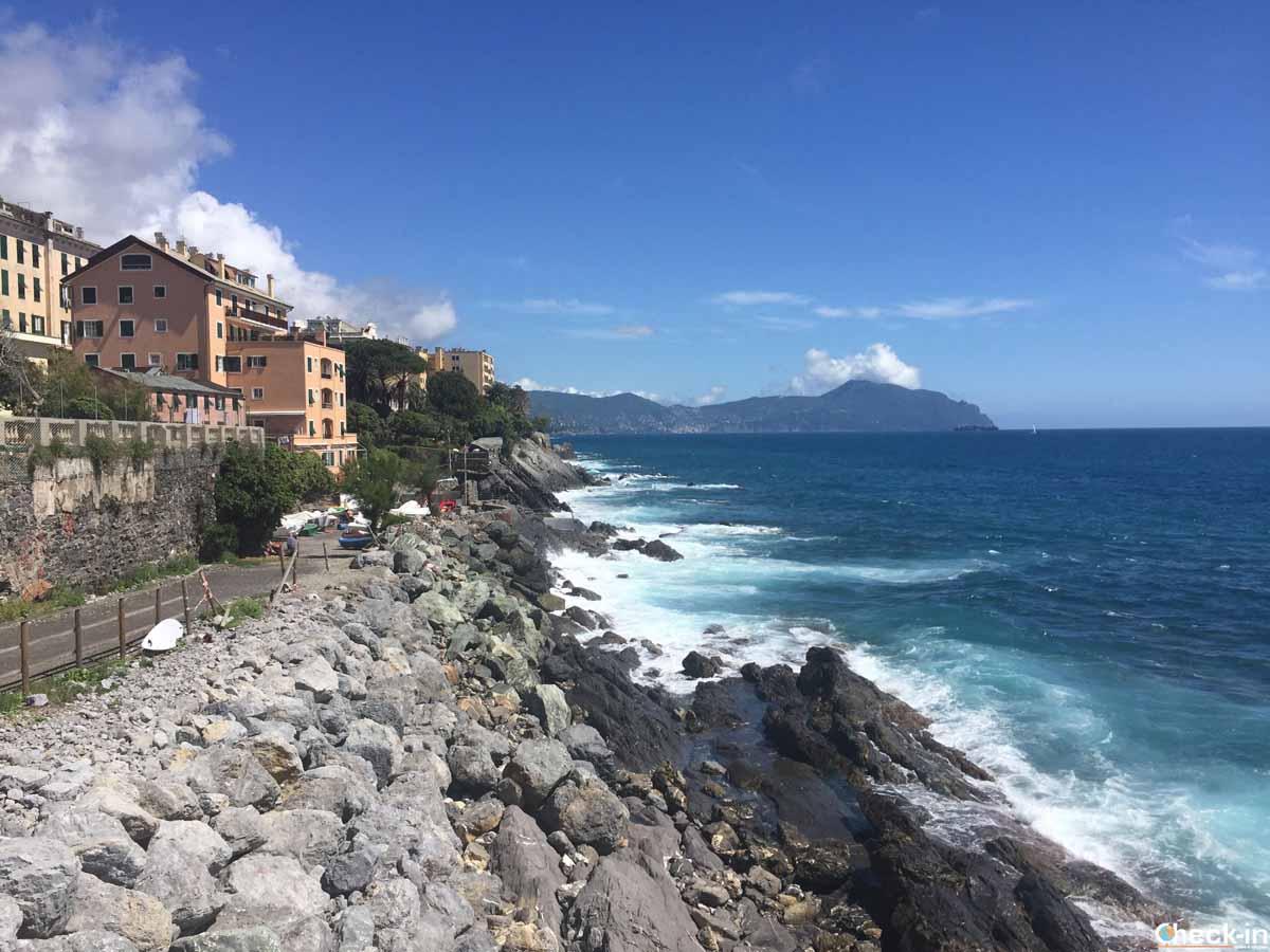 Liguria a piedi: da Boccadasse a Genova Quinto al Mare
