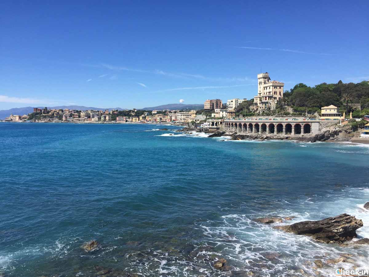 Da Boccadasse a Genova Quarto dei Mille