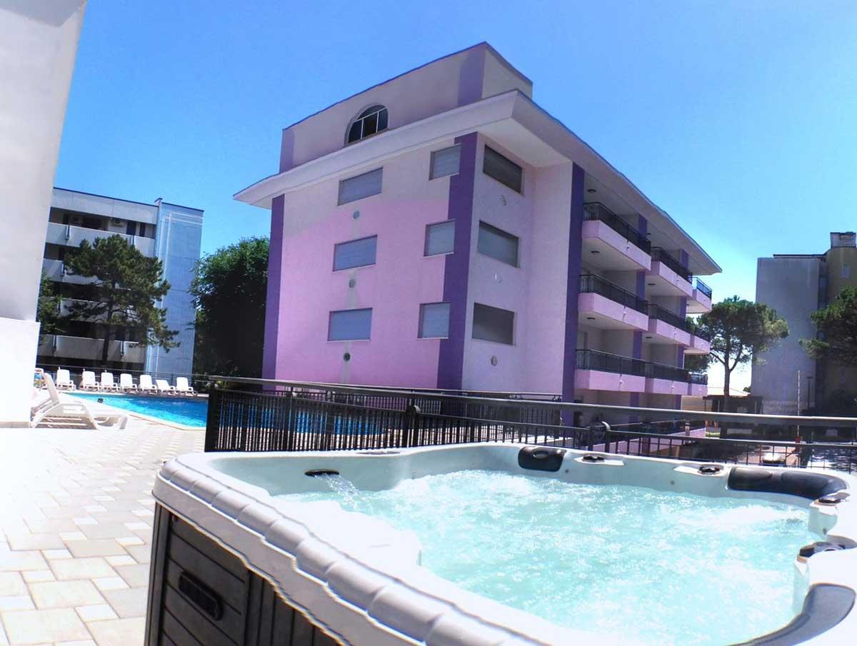 Servizi e comfort del Residence Regent Beach a Bibione