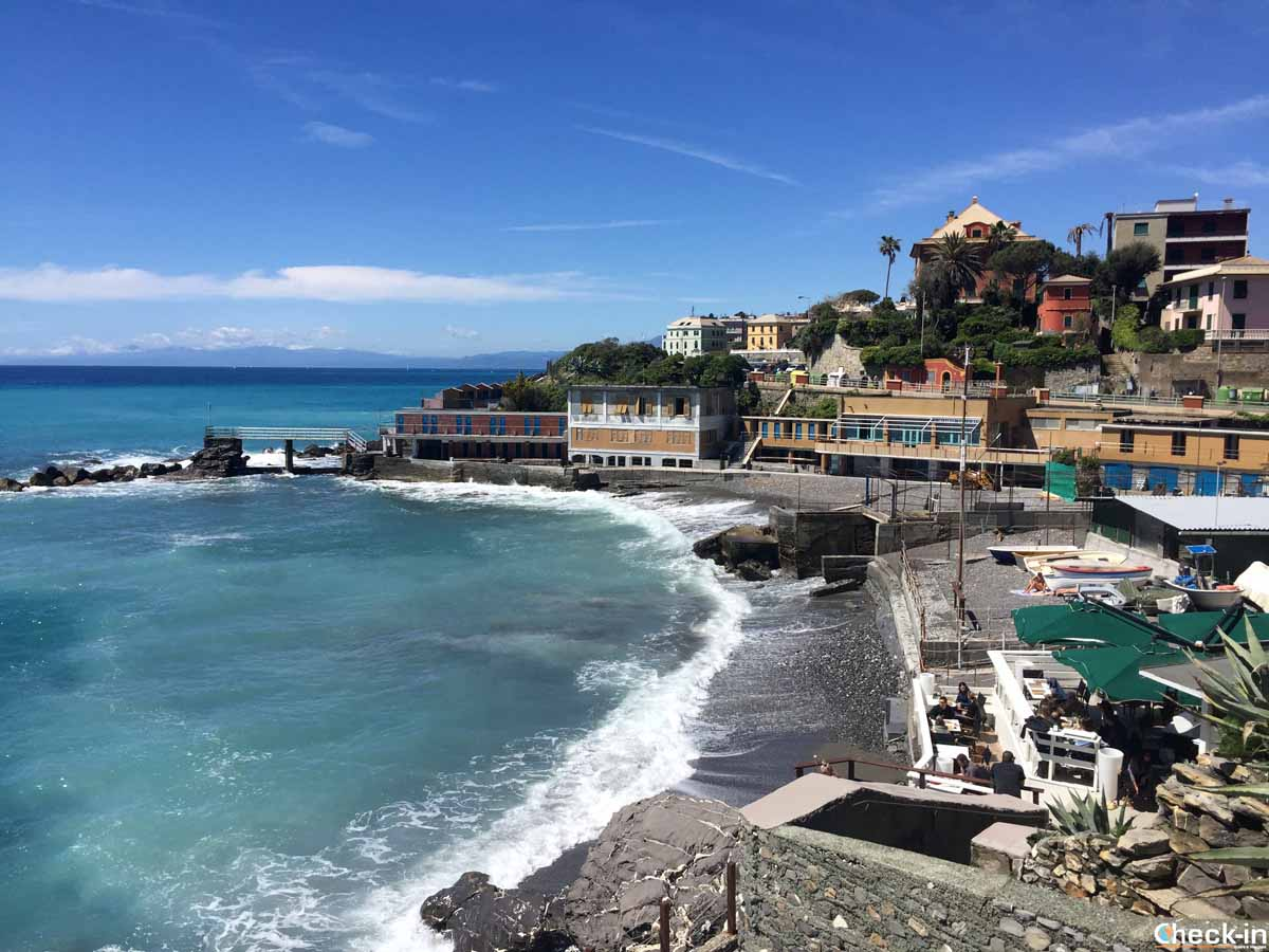 Passeggiata da Genova Brignole a Quinto al Mare