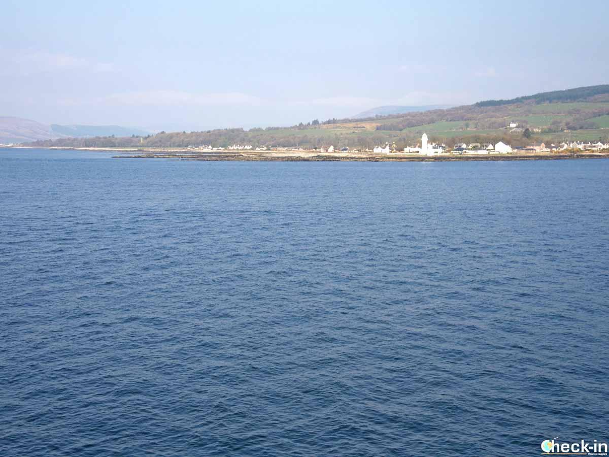 A bordo di CalMac verso Rothesay (Bute)
