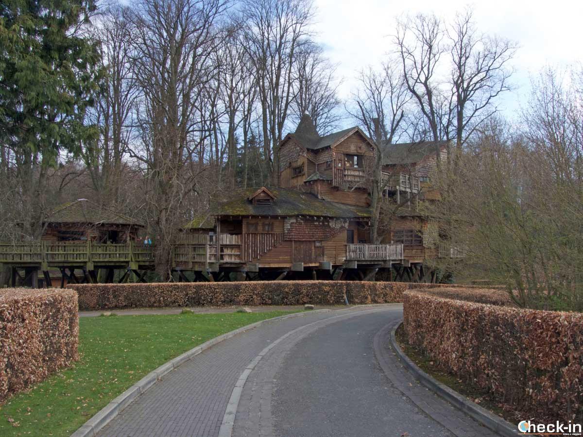 Treehouse Restaurant, castello di Alnwick