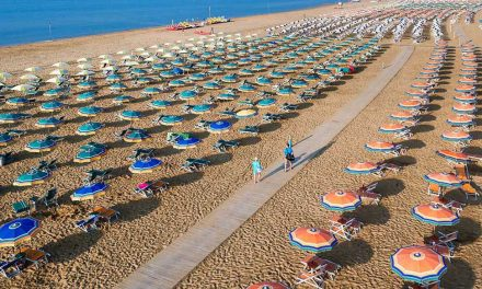 Bibione, la sua spiaggia e gli appartamenti turistici dove alloggiare