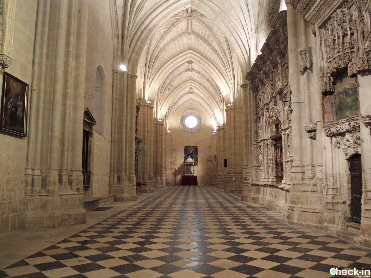 Interior de la Catedral de Palencia | Check-in Blog di Stefano Bagnasco
