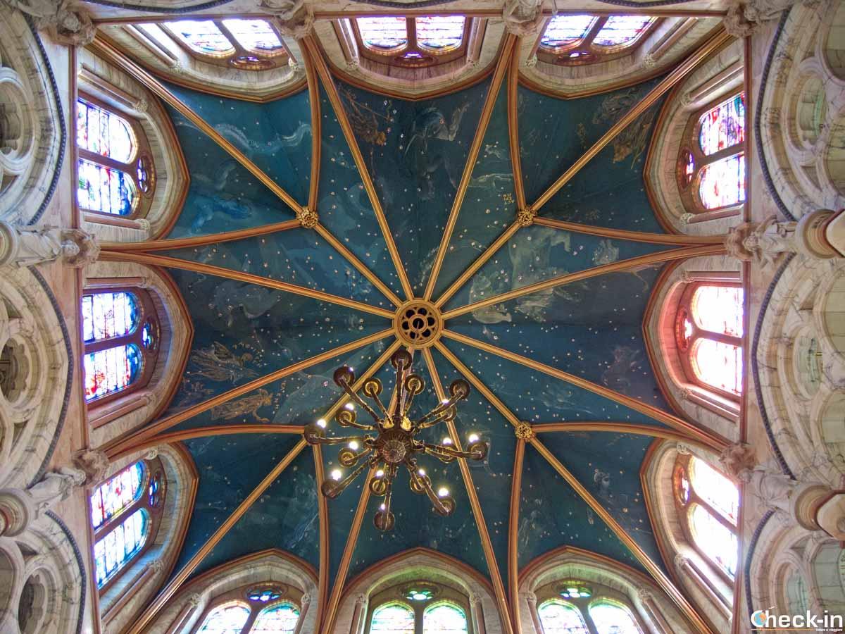 Architettura neogotica sull'isola di Bute (Scozia)