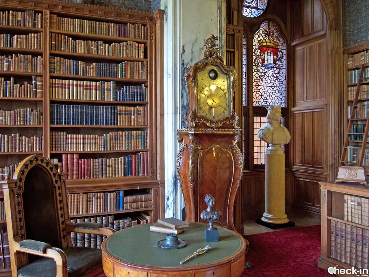 Libreria a Mount Stuart - Bute (Scozia)