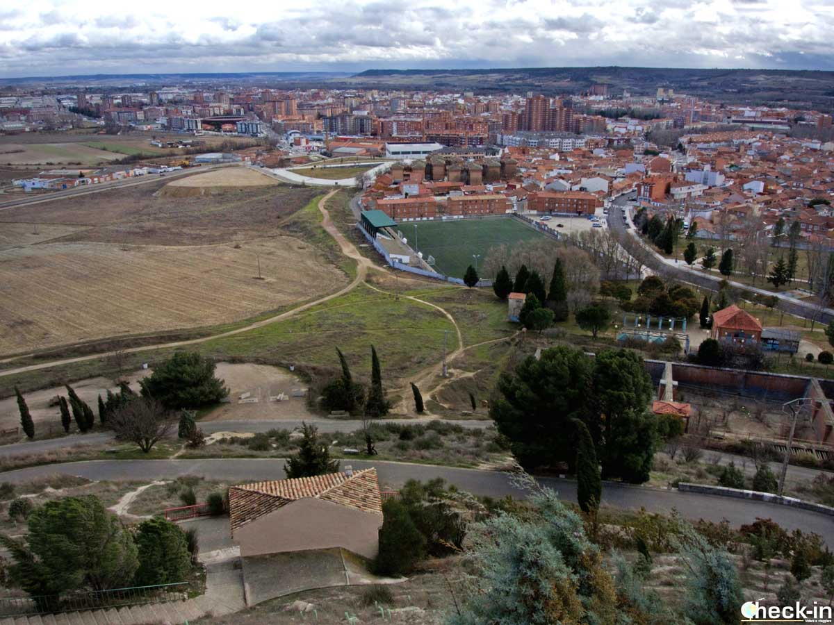 Mirador del Cristo del Otero - Palencia, España