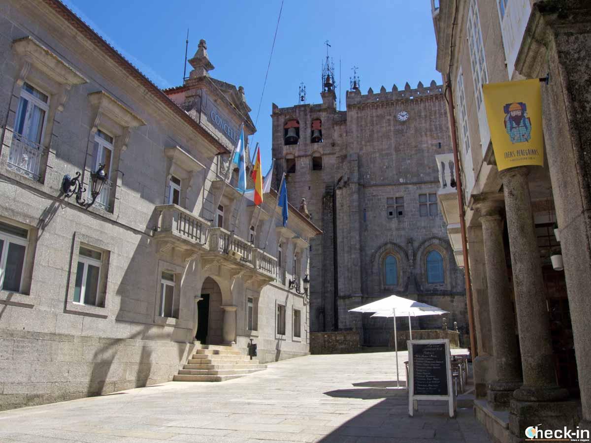 Tui, tappa del Cammino Portoghese da Lisbona a Santiago