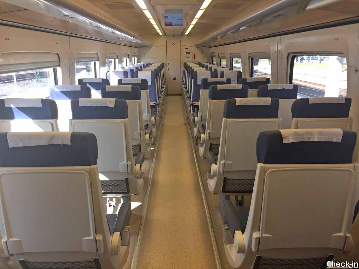 In viaggio coi treni Renfe da Santiago a Padrón (Galizia)