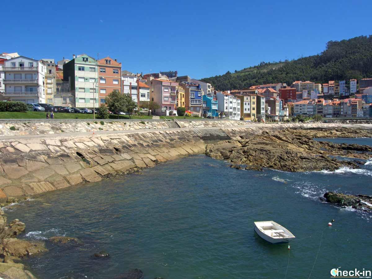 Passeggiata lungo il Paseo Marítimo di A Guarda (Spagna)