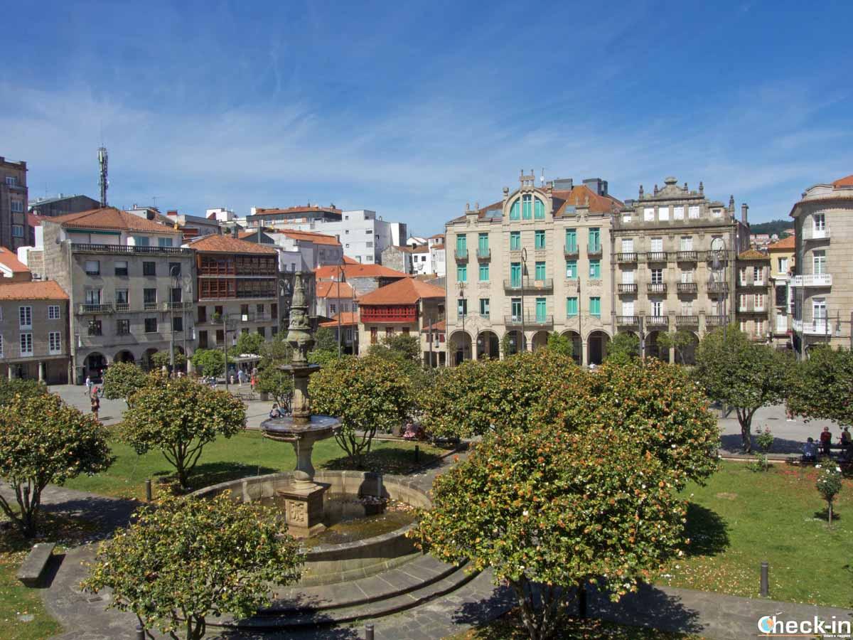 Pontevedra, tappa del Cammino Portoghese verso Santiago