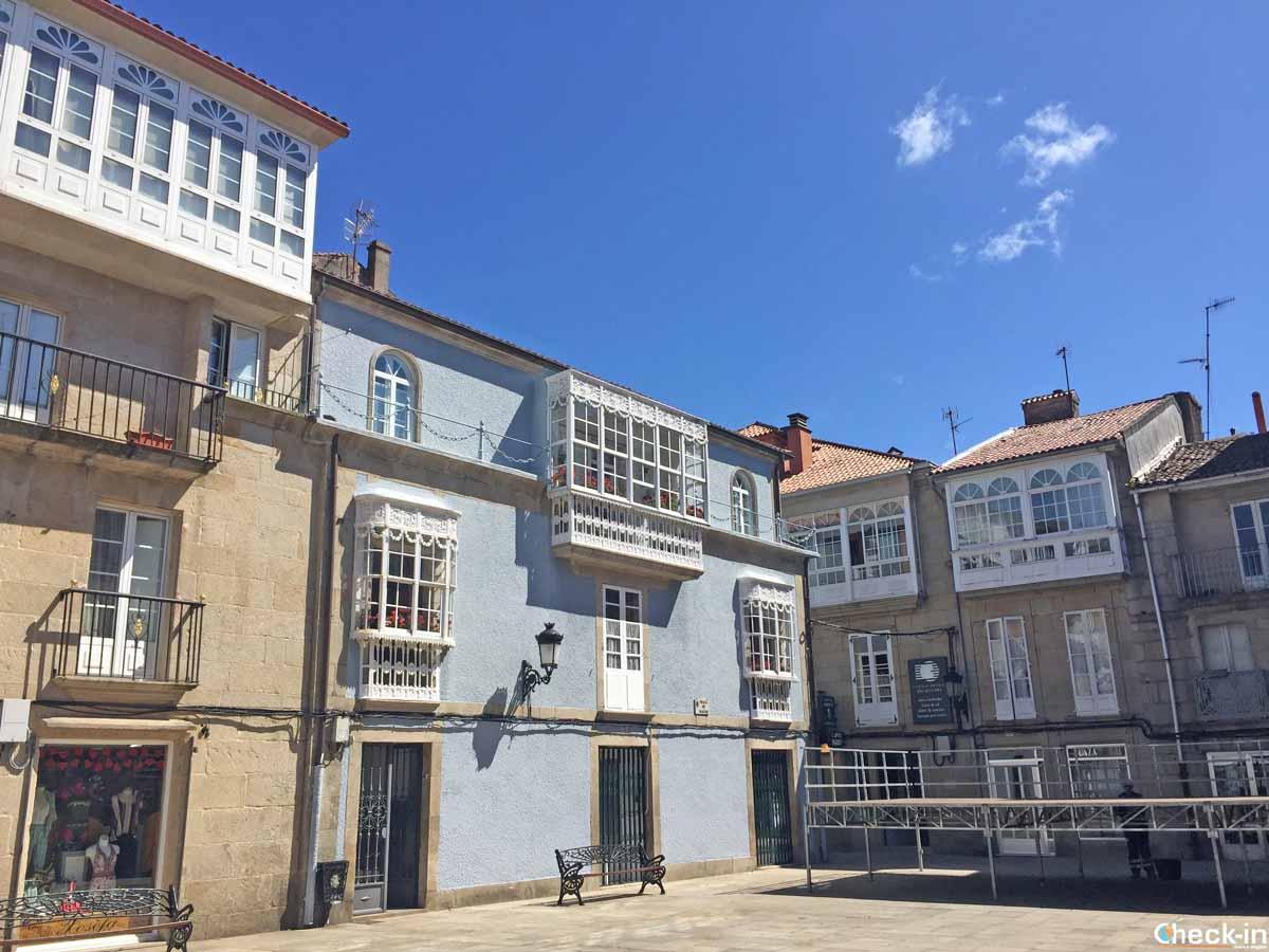 Cosa vedere nel centro storico di Padrón (Galizia)