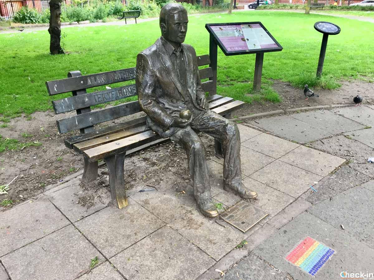 Monumento commemorativo a Alan Turing