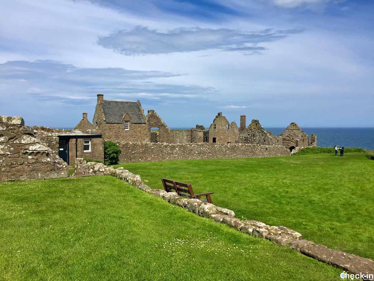 I castelli scozzesi più belli: Dunnottar