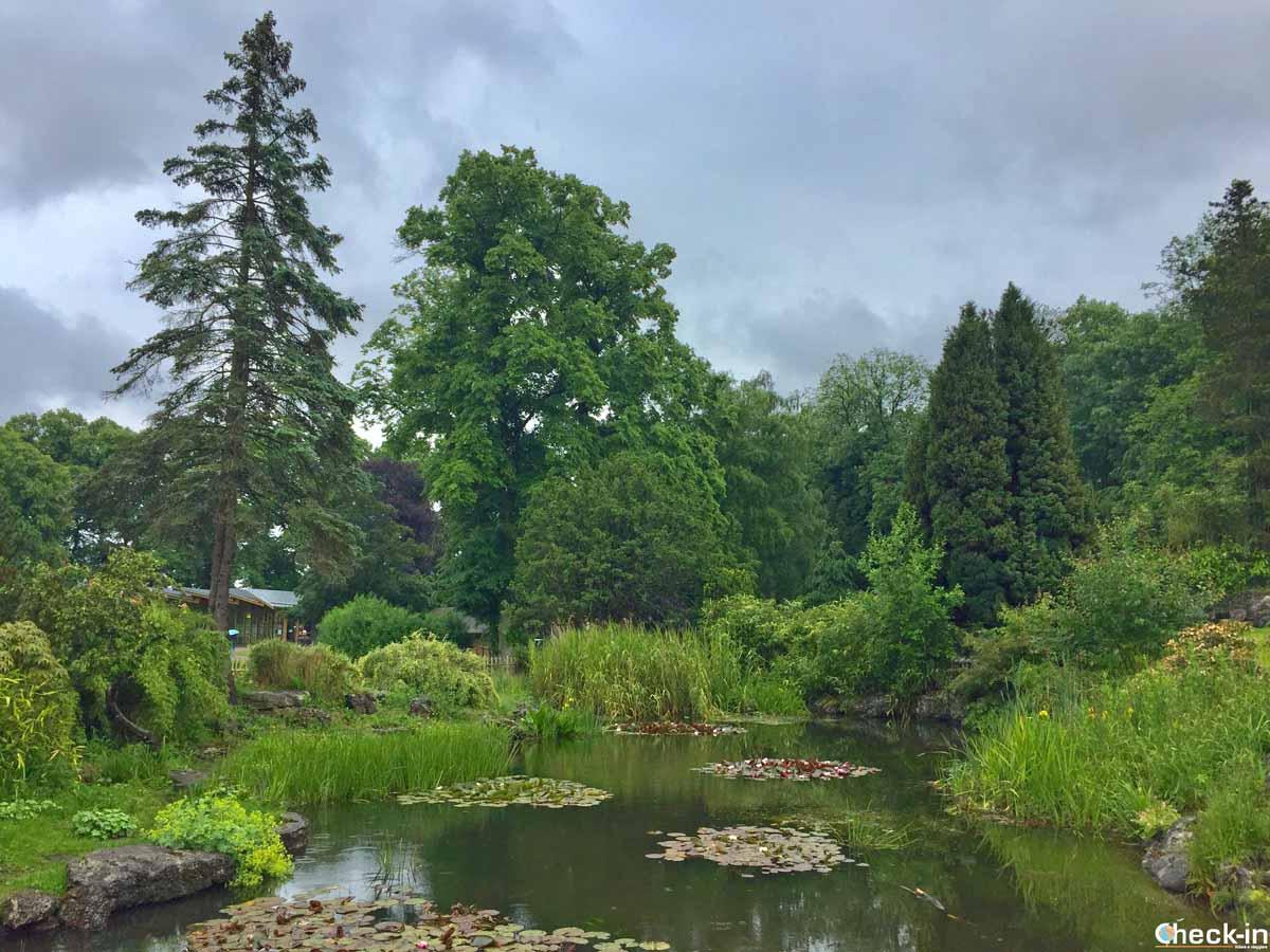 Passeggiata nel Avenham-Miller Parks di Preston
