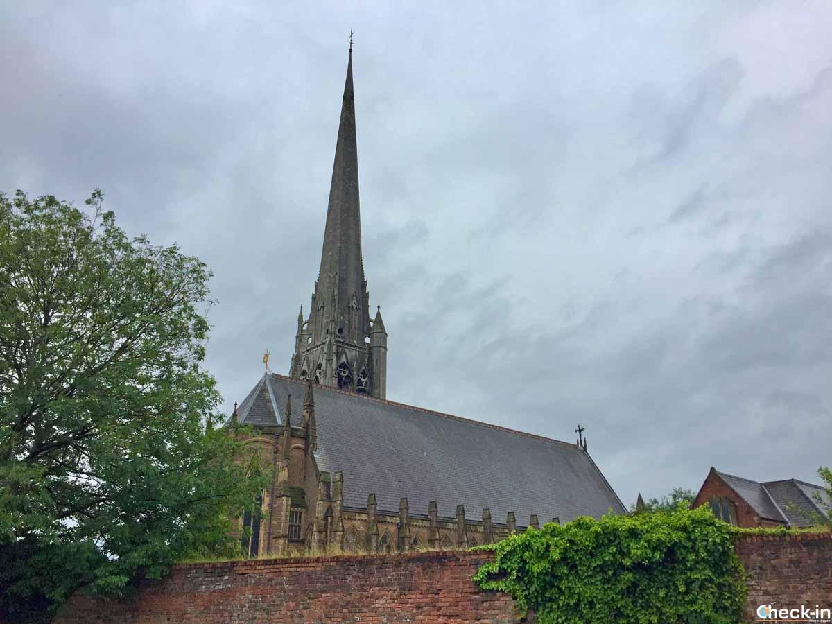 La St Walburge's Church a Preston (Inghilterra)
