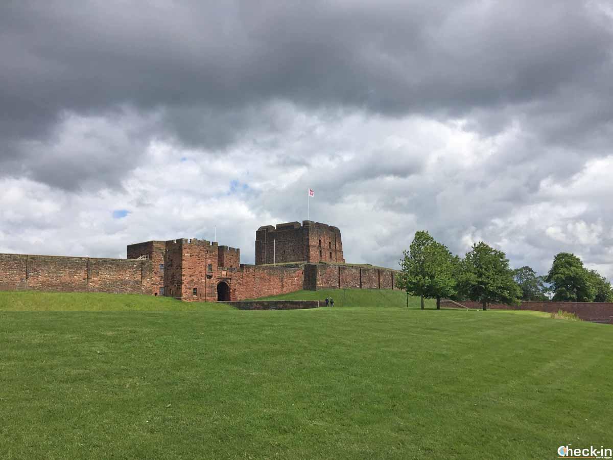 Giacobiti e Maria Stuarda al castello di Carlisle (Inghilterra)
