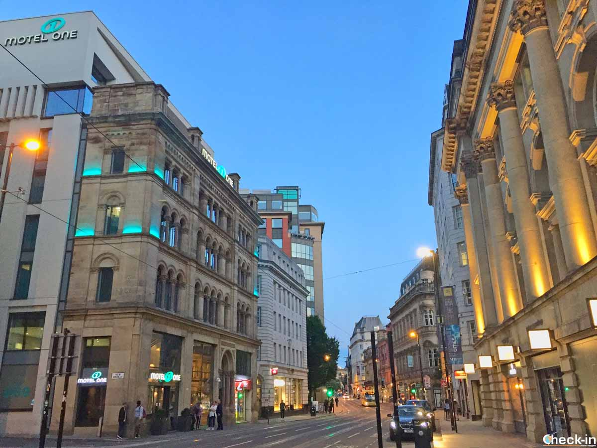 Cross Street, Motel One Manchester Royal-Exchange