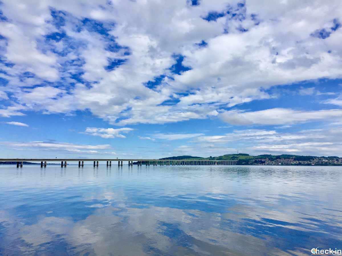 Il Firth of Tay a Dundee (Scozia)
