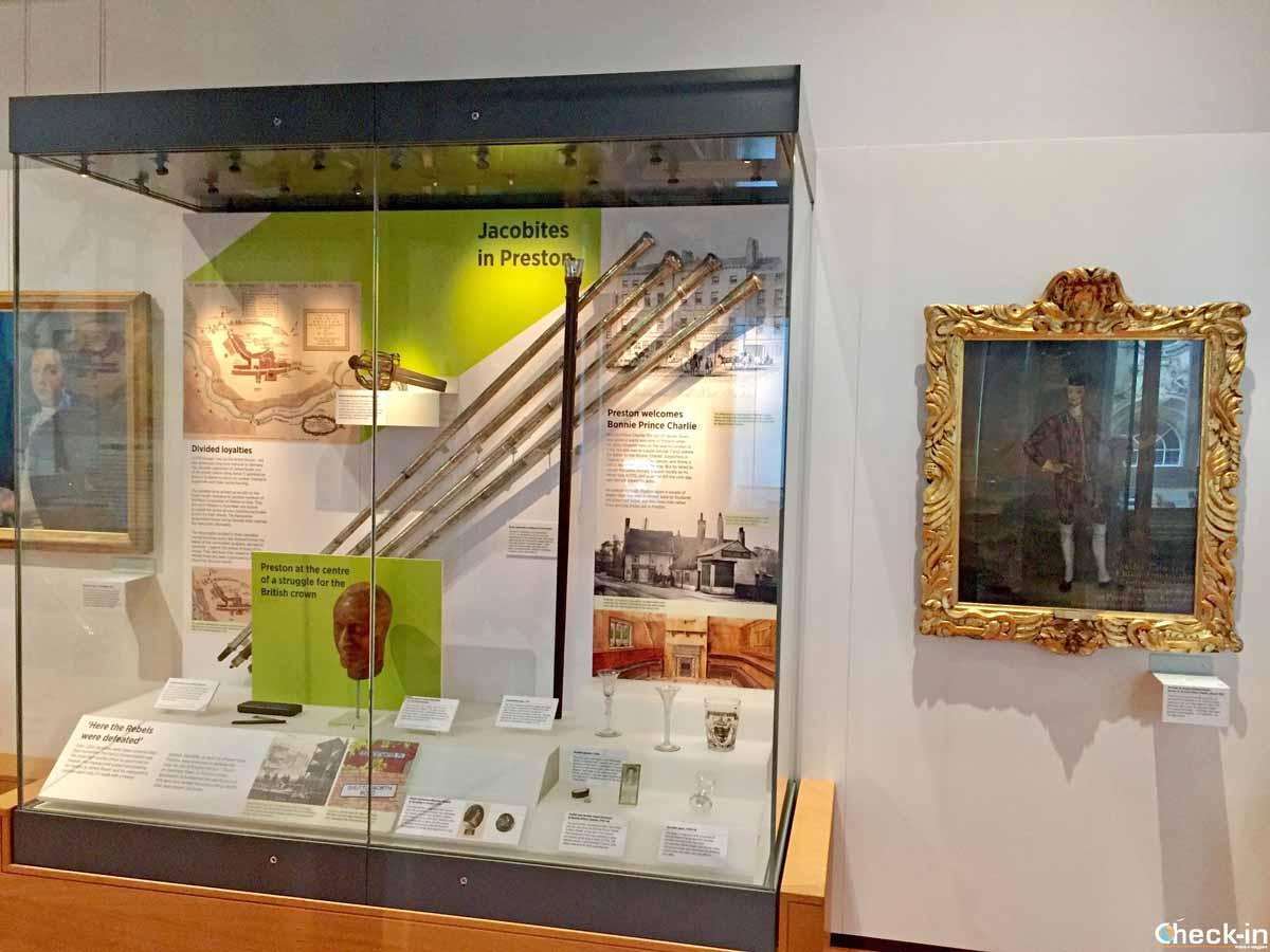 Visita dell'Harris Museum di Preston (Inghilterra)