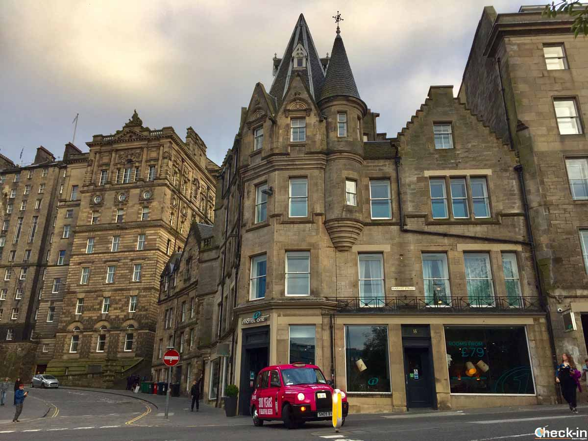 Dove dormire a Edimburgo: Motel One Edinburgh-Royal