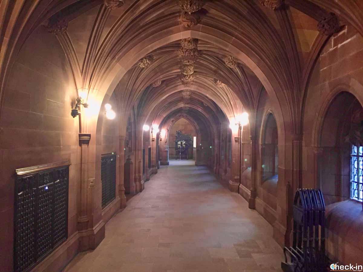 Visita della John Rylands Library di Manchester