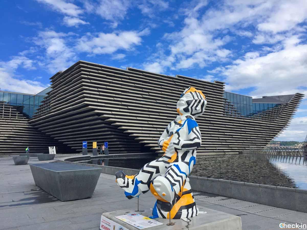 Il nuovo Museo del Design V&A di Dundee