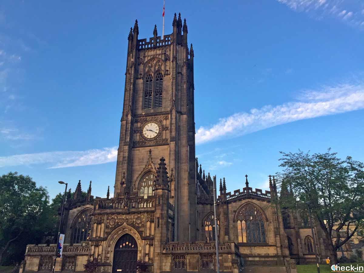 La Manchester Cathedral - Viaggio nel nord dell'Inghilterra