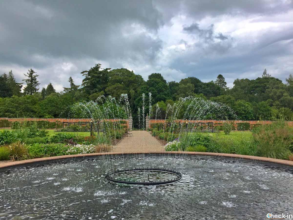 I giardini attorno al castello di Glamis