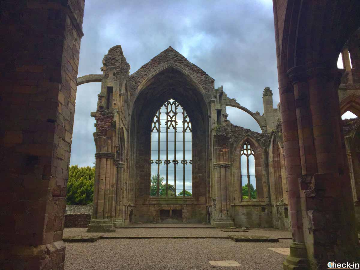 Melrose Abbey - Scottish Borders, Scozia
