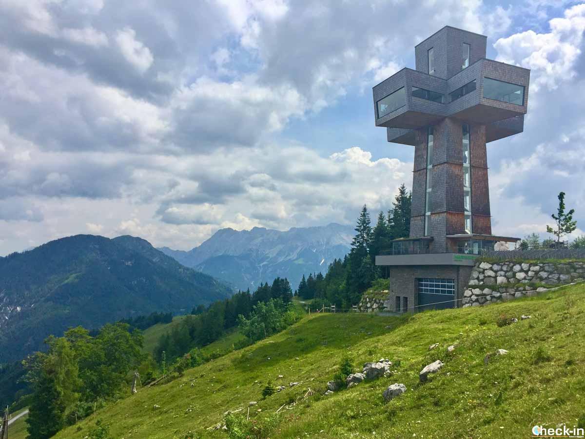 La Jakobscreuz nella Pillerseetal in Tirolo