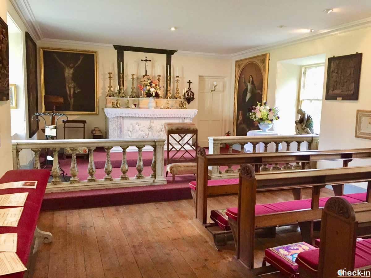 Luogo di culto cattolico nei Borders in Scozia