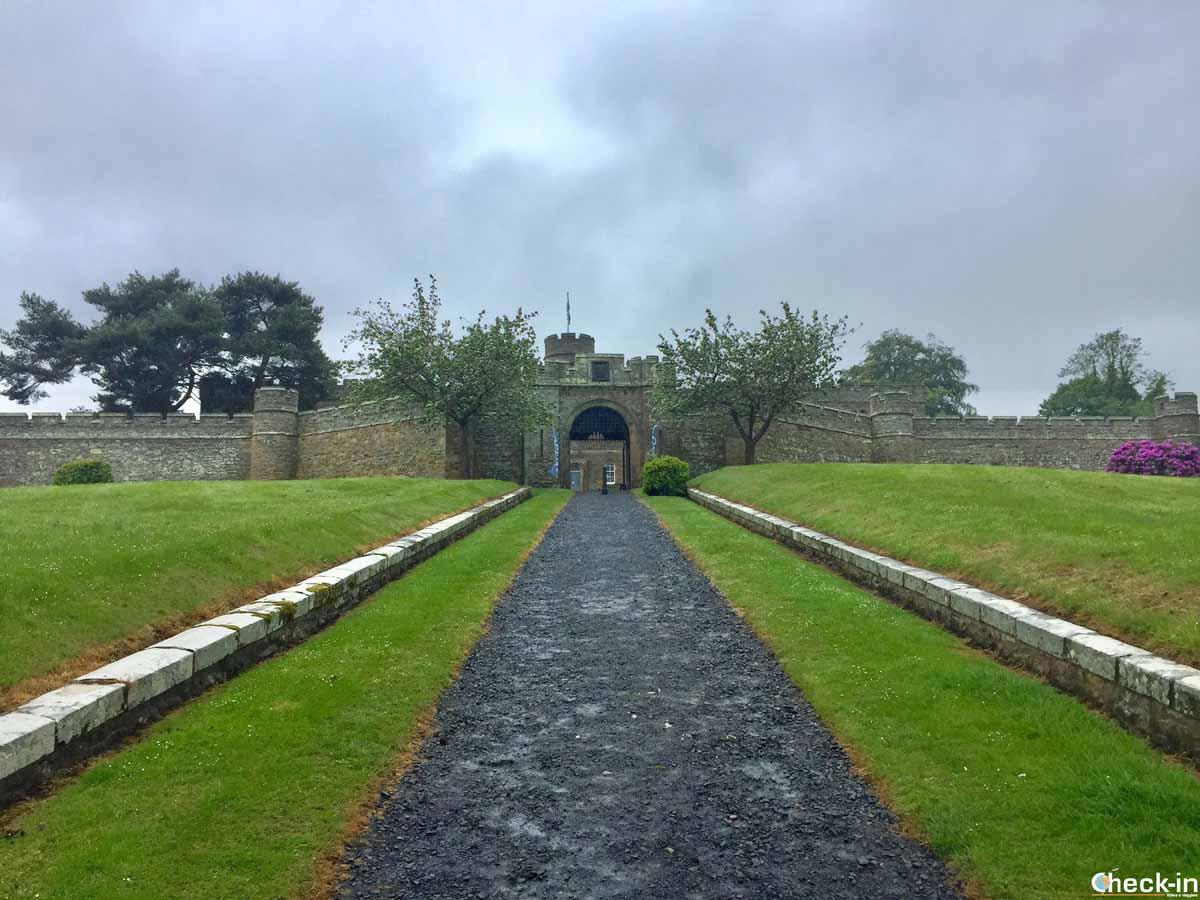 Arrivo al Jedburgh Castle Jail & Museum (Scozia)