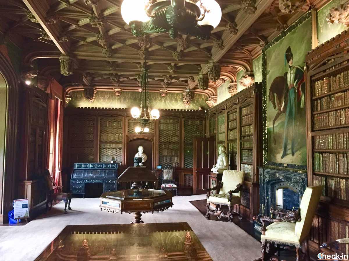 La casa di Walter Scott negli Scottish Borders (Scozia)