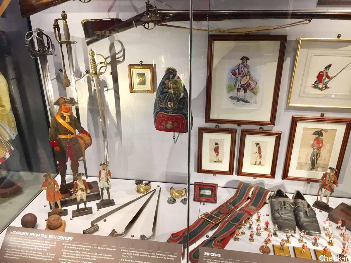 Il museo del Reggimento della Cumbria a Carlisle