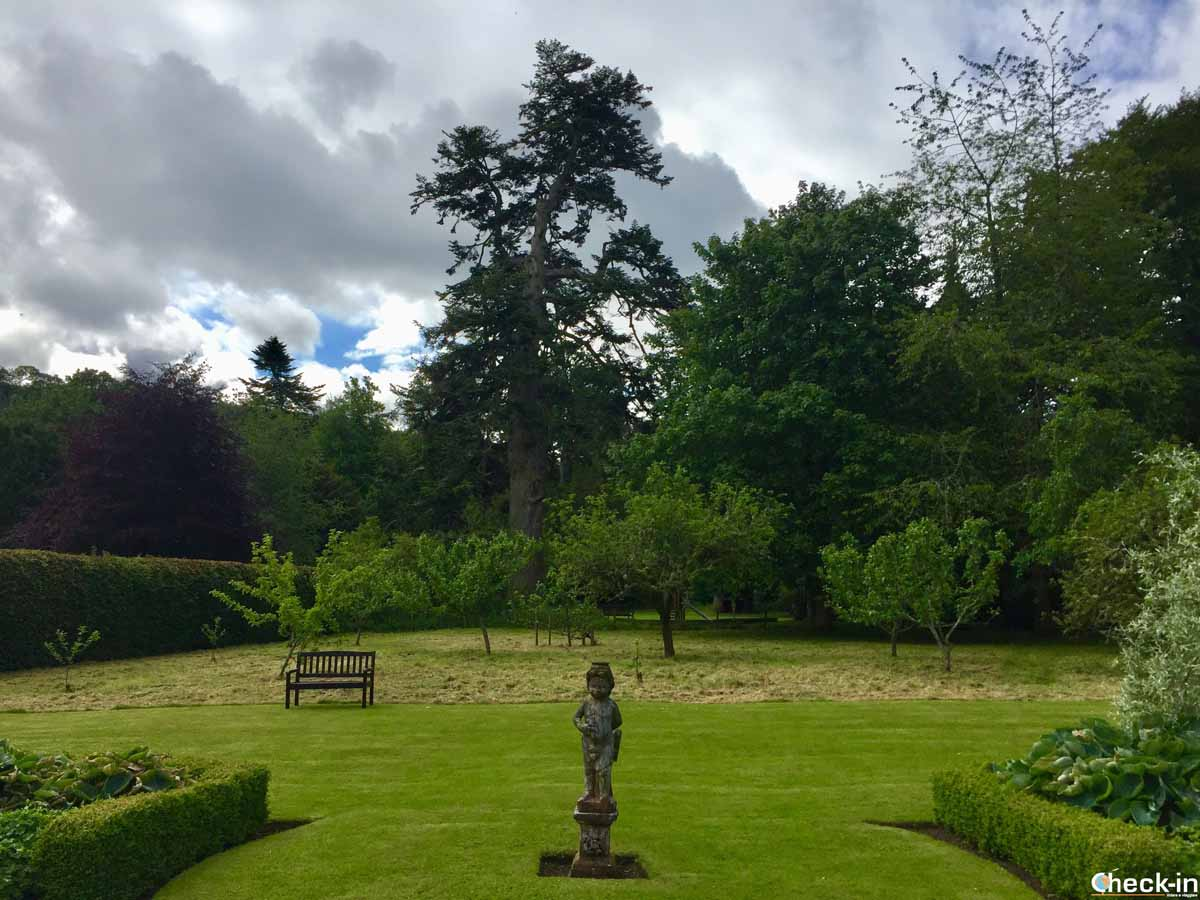 Il Cupid's Garden a Traquair House