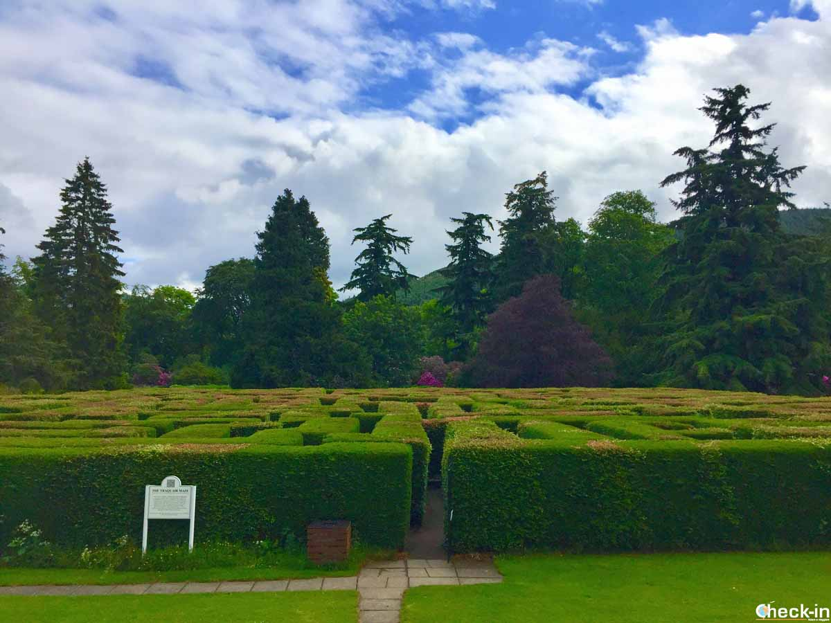 Il labirinto di Traquair, amato da grandi e piccini