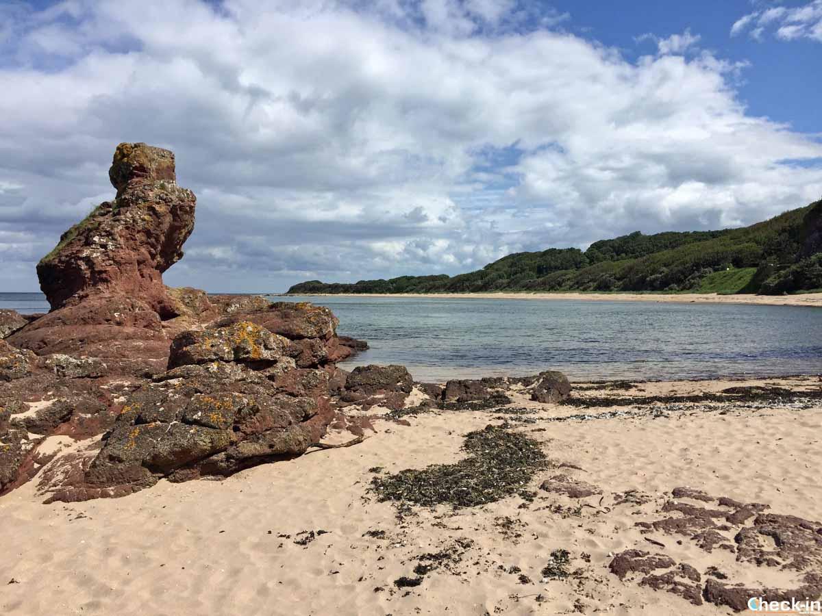 Come raggiungere la Seacliff Beach nei dintorni di North Berwick