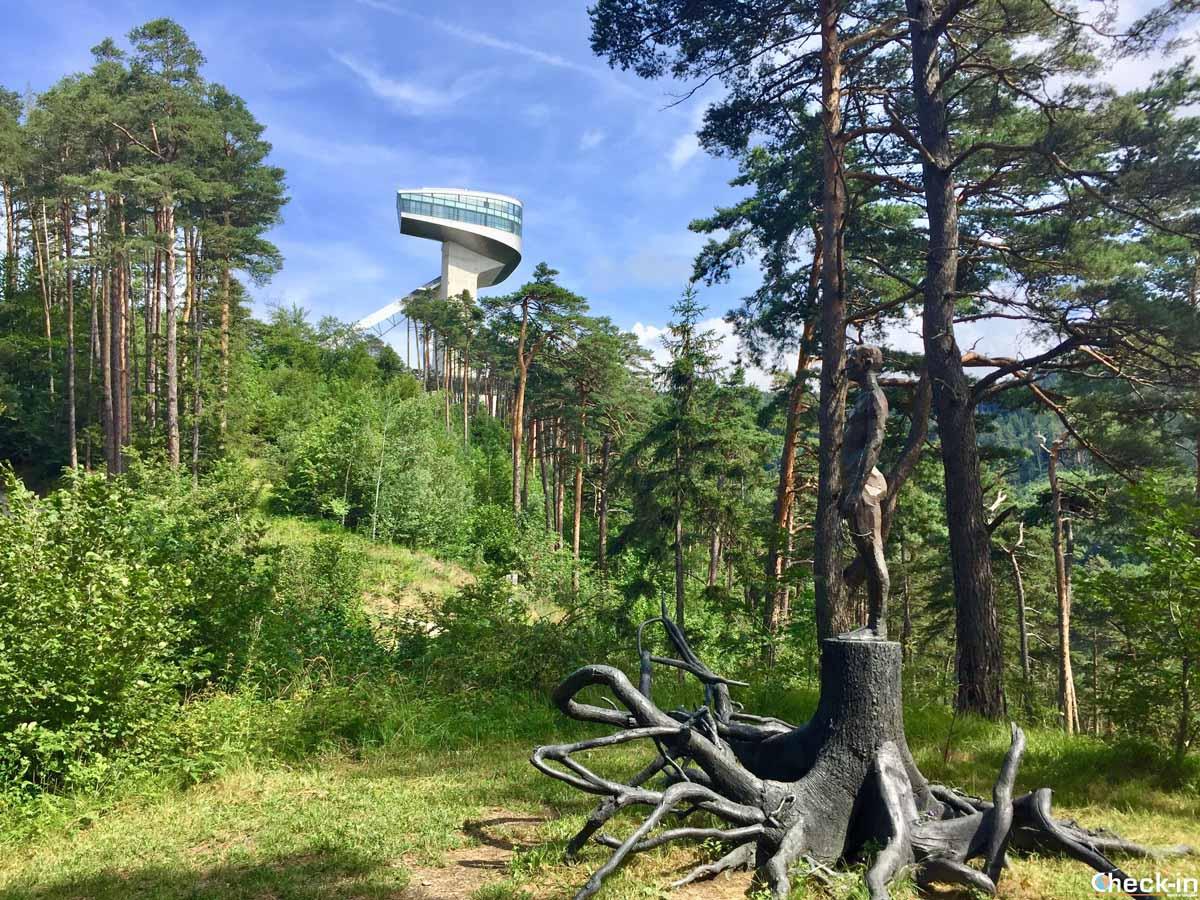Cosa vedere a Innsbruck: il trampolino del Bergisel
