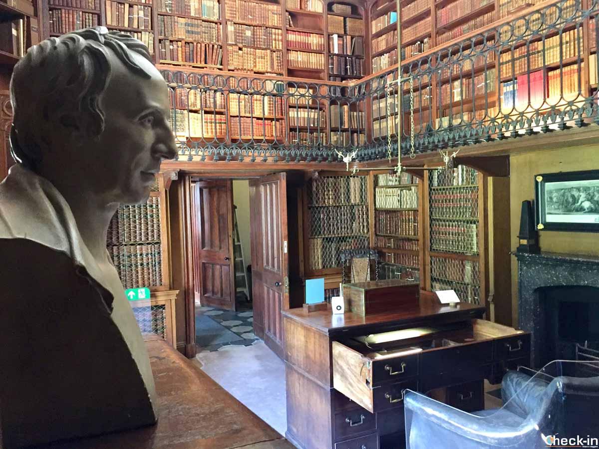 Lo studio di Walter Scott ad Abbotsford House