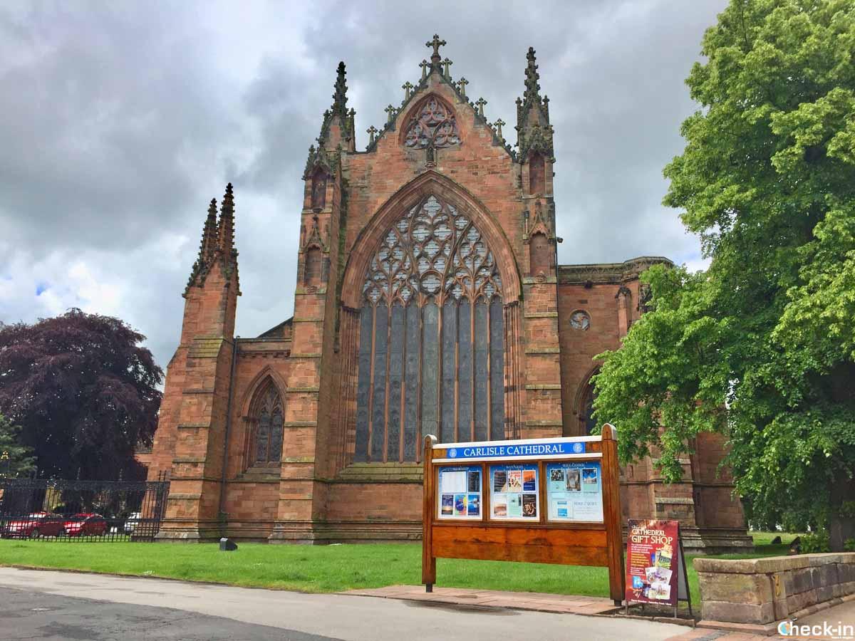 Cosa vedere a Carlisle: la Cattedrale