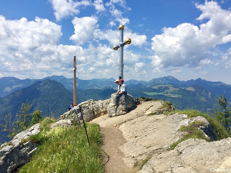 Trekking da fare in Tirolo: vetta Kranzhorn al confine con la Baviera