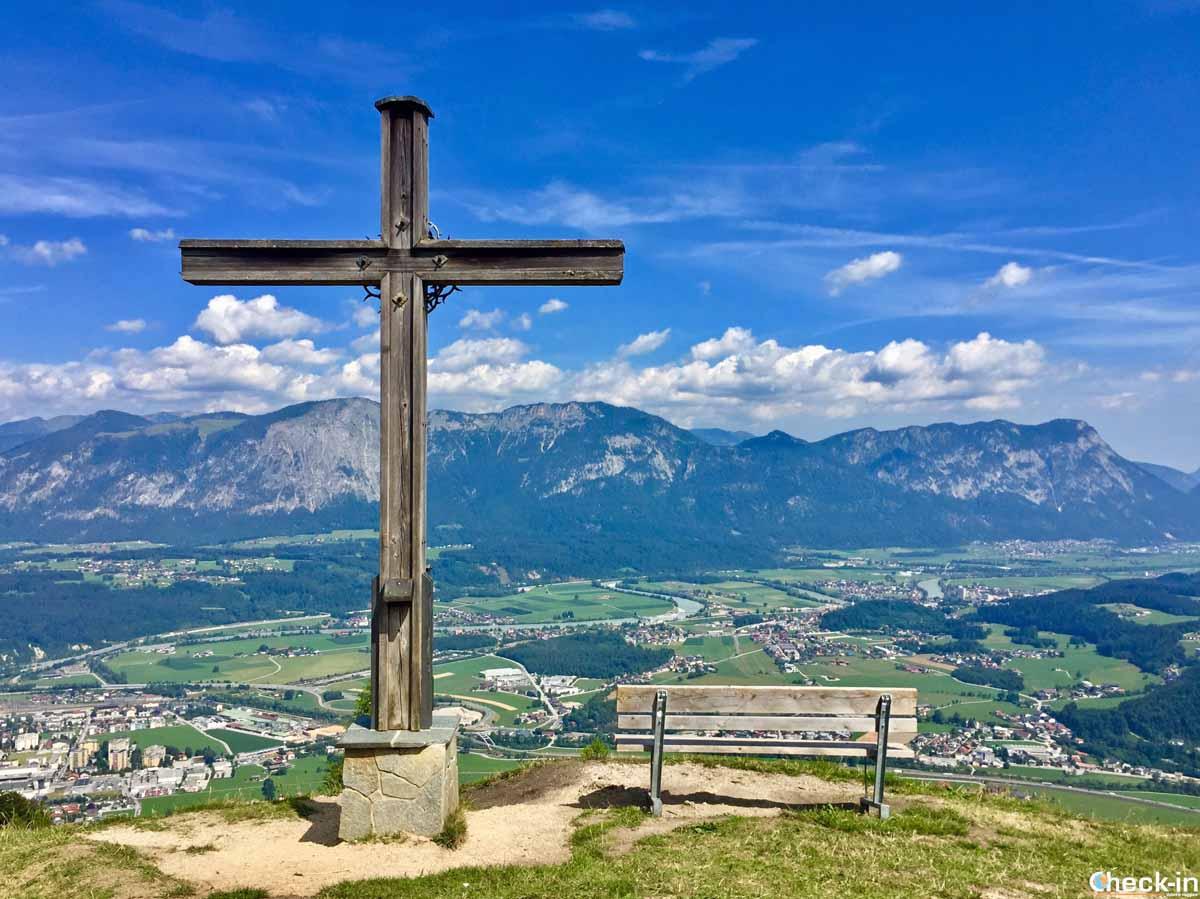 Sulla cima del monte Mösalmkogel a Wörgl